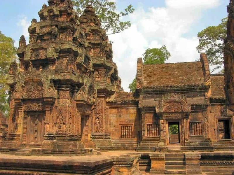 Angkor Wat and the Angkor temples